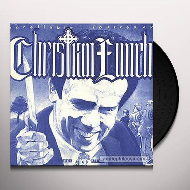Christian Lunch UNRELIABLE SOURCES Vinyl Record