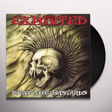The Exploited BEAT THE BASTARDS Vinyl Record - UK Release