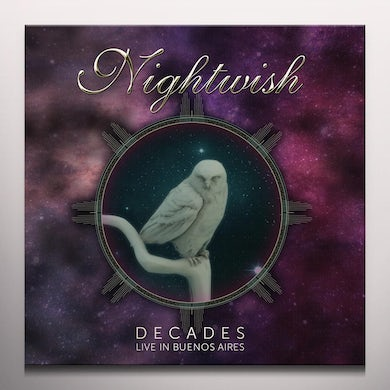 Nightwish DECADES: LIVE IN BUENOS AIRES Vinyl Record
