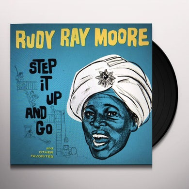 Rudy Ray Moore Step It Up And Go Vinyl Record