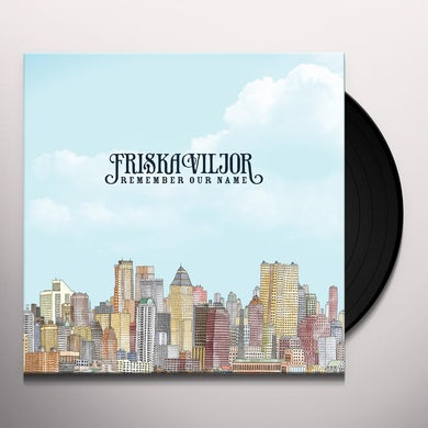 Friska Viljor REMEMBER OUR NAME Vinyl Record - Portugal Release