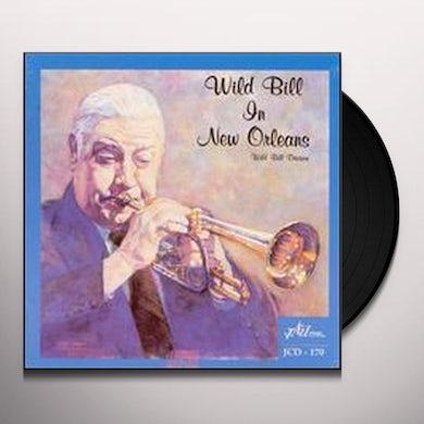 Wild Bill Davison WILD BILL IN NEW ORLEANS Vinyl Record