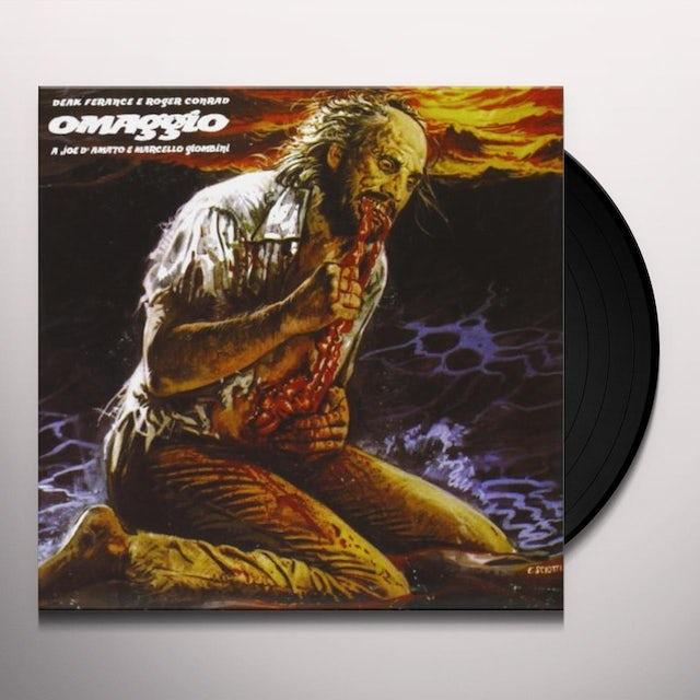 Deak Ferance / Roger Conrad OMAGGIO A JOE DAMATO E MARCELLO GIOMBINI / Original Soundtrack Vinyl Record