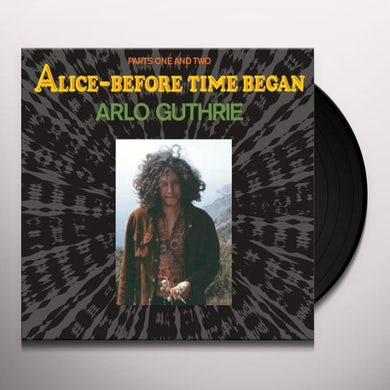 Arlo Guthrie ALICE - BEFORE TIME BEGAN Vinyl Record