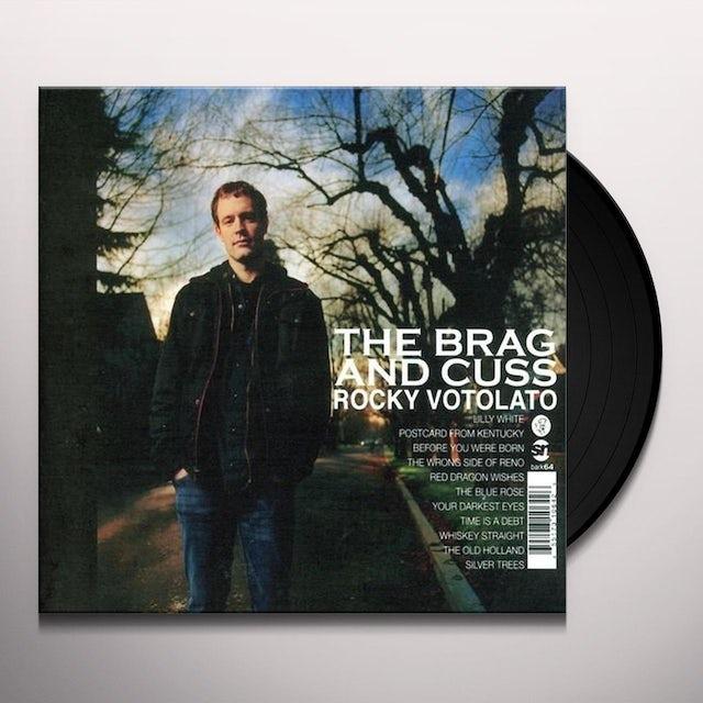 Rocky Votolato BRAG & CUSS Vinyl Record