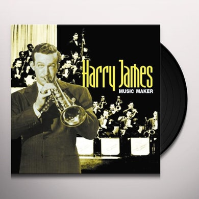 Harry James Music Maker Vinyl Record