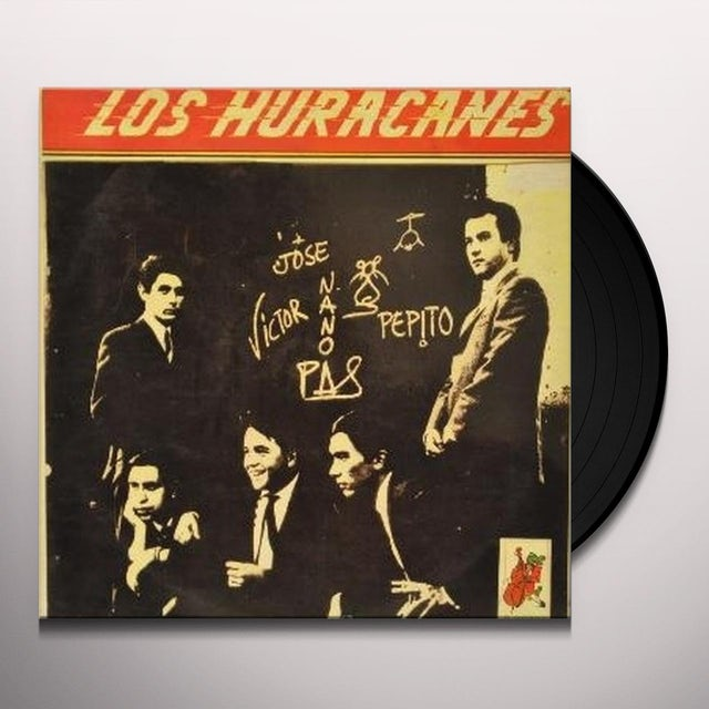 Los Huracanes Vinyl Record