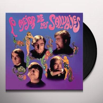 LO MEJOR DE LOS SALVAJES Vinyl Record