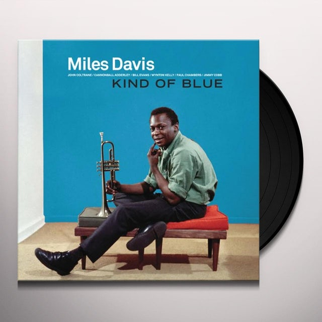 Miles Davis KIND OF BLUE Vinyl Record - Remastered, 180 Gram Pressing