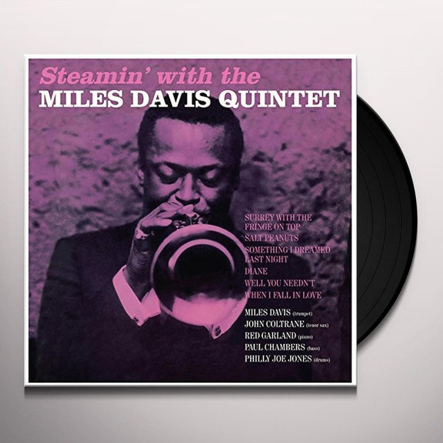 Miles Davis STEAMIN' Vinyl Record - Spain Release