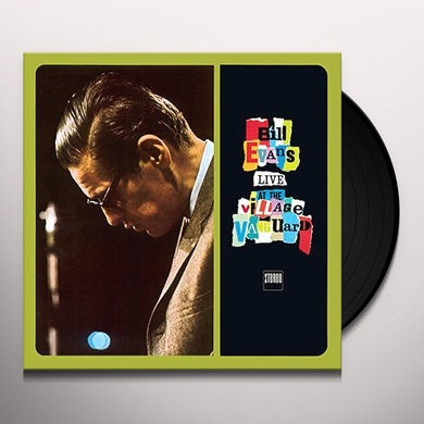 Bill Evans LIVE AT THE VILLAGE VANGUARD + 2 BONUS TRACKS Vinyl Record