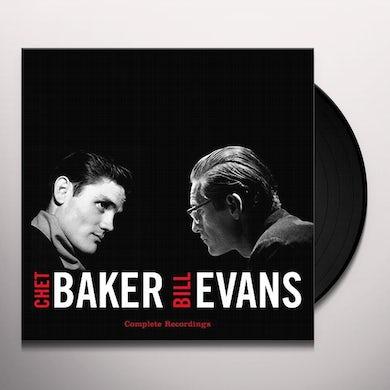 Chet Baker COMPLETE RECORDINGS Vinyl Record