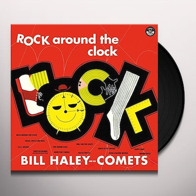 Bill Haley ROCK AROUND THE CLOCK + 2 BONUS TRACKS Vinyl Record