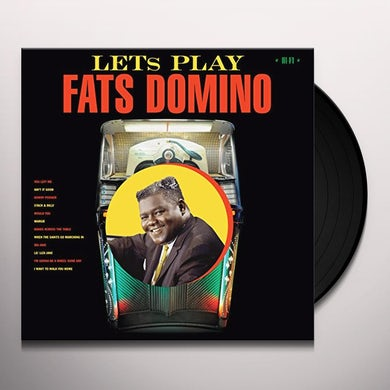 LET'S PLAY FATS DOMINO + 2 BONUS TRACKS Vinyl Record