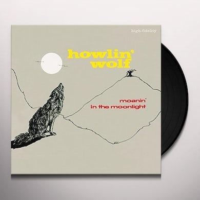 Howlin' Wolf MOANIN IN THE MOONLIGHT + 4 BONUS TRACKS Vinyl Record