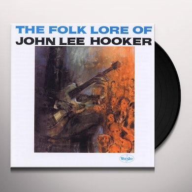 FOLK LORE OF JOHN LEE HOOKER Vinyl Record