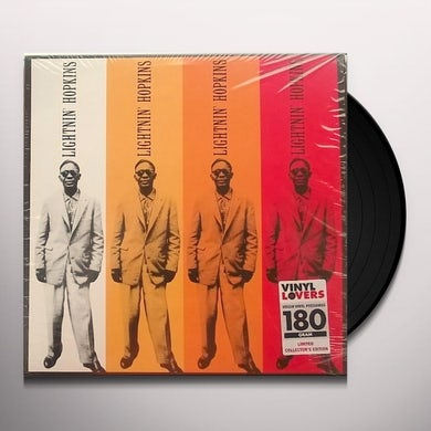 LIGHTNIN HOPKINS + 2 BONUS TRACKS Vinyl Record