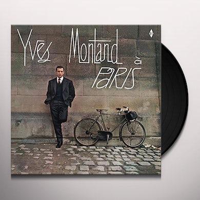 Yves Montand A PARIS + 2 BONUS TRACKS Vinyl Record