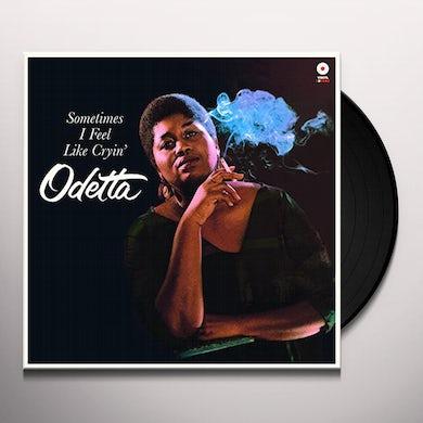 Odetta SOMETIMES I FEEL LIKE CRYIN + 2 BONUS TRACKS Vinyl Record