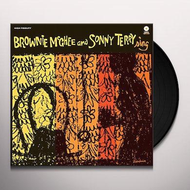 Sonny Terry / Brownie McGhee  SING Vinyl Record