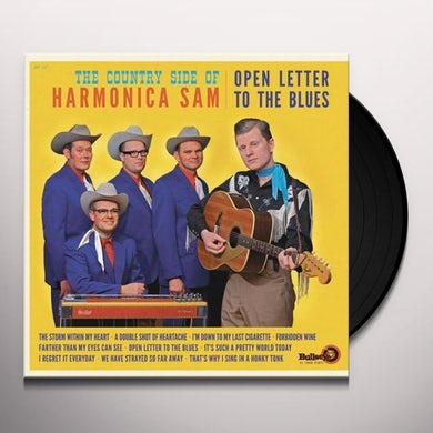COUNTRY SIDE OF HARMONICA SAM OPEN LETTER TO THE BLUES Vinyl Record