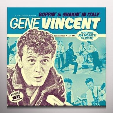Gene Vincent BOPPIN & SHAKIN IN ITALY Vinyl Record