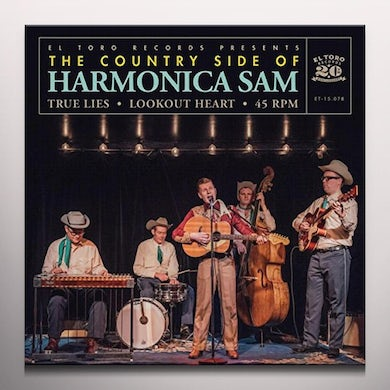 COUNTRY SIDE OF HARMONICA SAM TRUE LIES / LOOKOUT HEART Vinyl Record