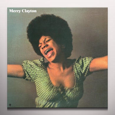 MERRY CLAYTON - Limited Edition Maroon Colored Vinyl Record