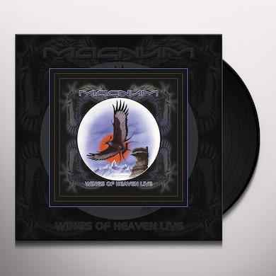 Magnum WINGS OF HEAVEN LIVE Vinyl Record