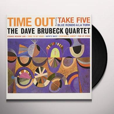 Dave Quartet Brubeck TIME OUT Vinyl Record