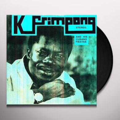 K Frimpong & His Cubano Fiestas BLUE ALBUM Vinyl Record