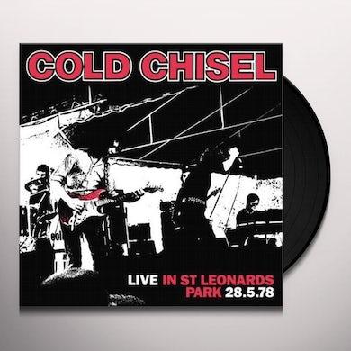 Cold Chisel LIVE IN ST LEONARD'S PARK Vinyl Record