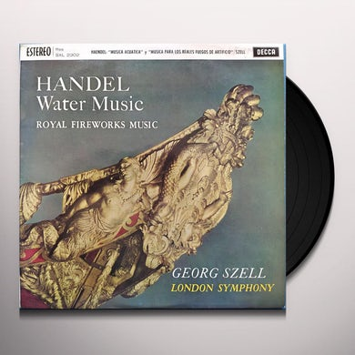 Handel: Water Music, Fireworks Music Vinyl Record
