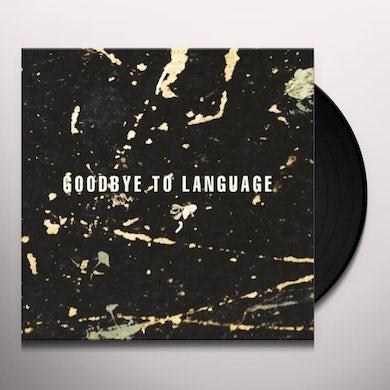 Daniel Lanois GOODBYE TO LANGUAGE Vinyl Record