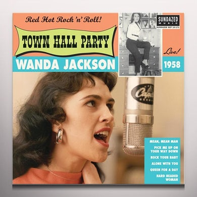 Wanda Jackson LIVE AT TOWN HALL PARTY 1958 Vinyl Record