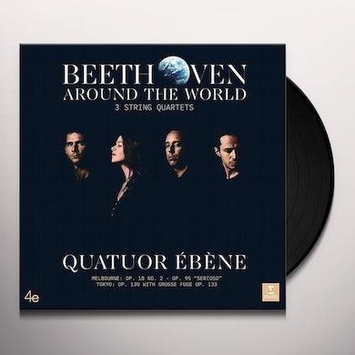 Quatuor Ebene BEETHOVEN AROUND THE WORLD Vinyl Record