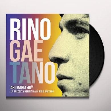 Rino Gaetano AHI MARIA 40TH Vinyl Record
