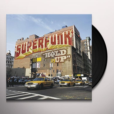 Superfunk HOLD UP Vinyl Record