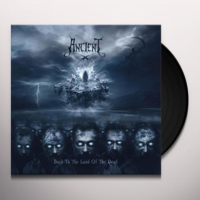 Ancient BACK TO THE LAND OF THE DEAD (BLACK VINYL) Vinyl Record