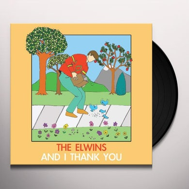 The Elwins AND I THANK YOU Vinyl Record