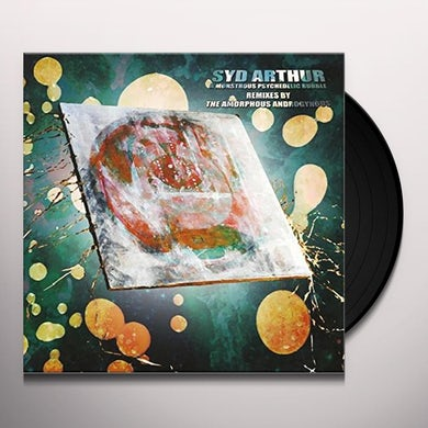 Amorphous Androgynous MONSTROUS PSYCHEDELIC BUBBLE Vinyl Record - UK Release