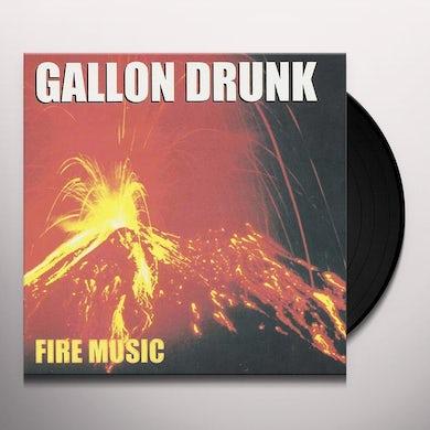 Gallon Drunk FIRE MUSIC Vinyl Record