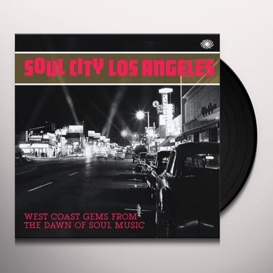 Soul City Los Angeles:West Coast Gems From The Daw Vinyl Record
