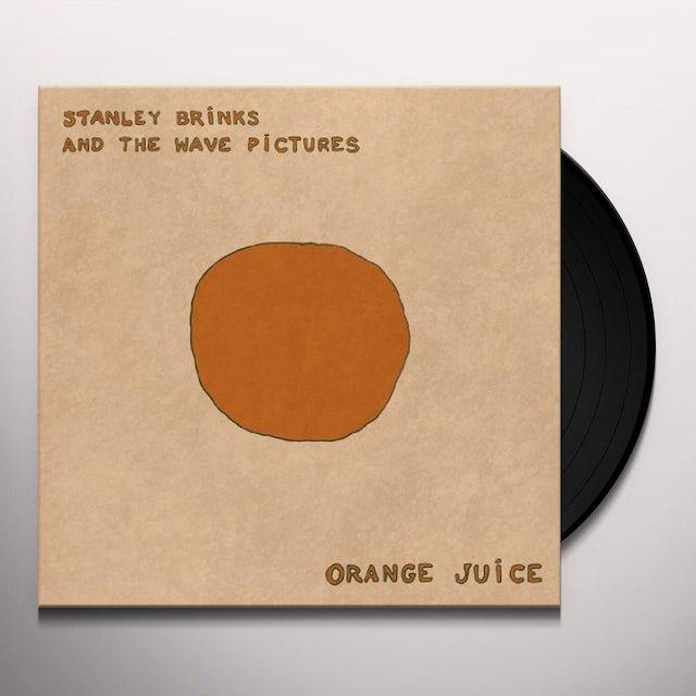 Stanley Brinks and The Wave Pictures ORANGE JUICE Vinyl Record