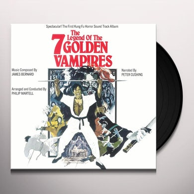 James Bernard LEGEND OF THE 7 GOLDEN VAMPIRES / Original Soundtrack Vinyl Record