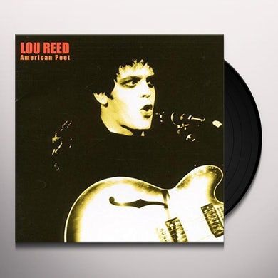 Lou Reed AMERICAN POET Vinyl Record