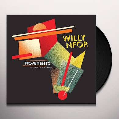 Willy Nfor MOVEMENTS: BOOGIE DOWN IN AFRICA Vinyl Record