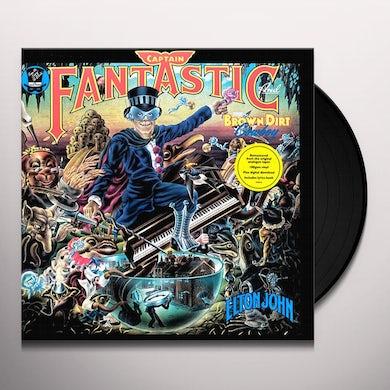 Elton John CAPTAIN FANTASTIC & THE BROWN DIRT COWBOY Vinyl Record