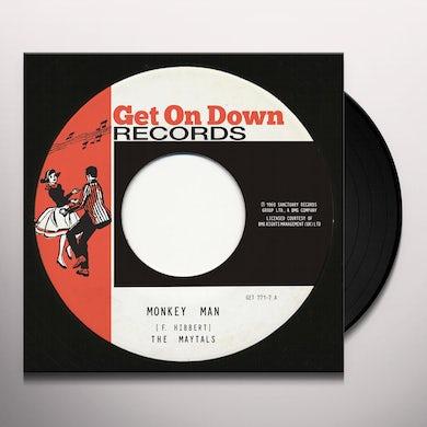 Maytals MONKEY MAN / NIGHT & DAY Vinyl Record