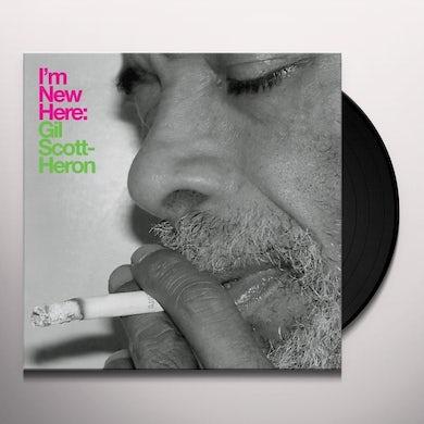 Gil Scott-Heron I'M NEW HERE Vinyl Record
